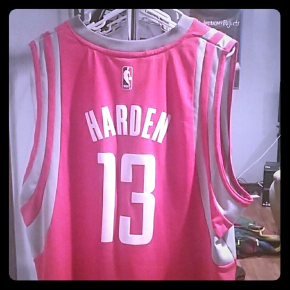 save off 7a7d5 9d28e James Harden rockets jersey